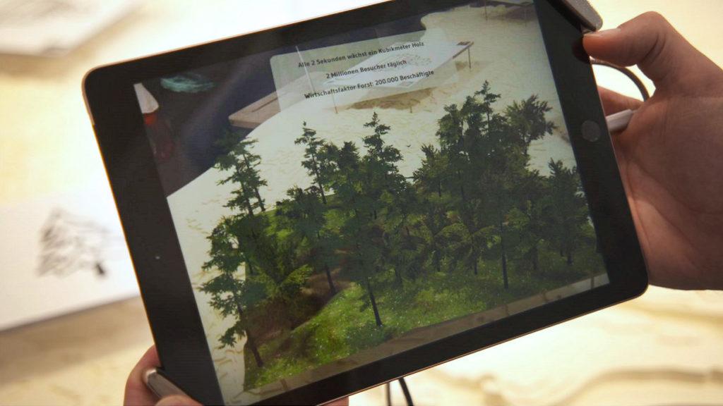 Augmented Reality auf dem Landwirtschaftlichen Hauptfest